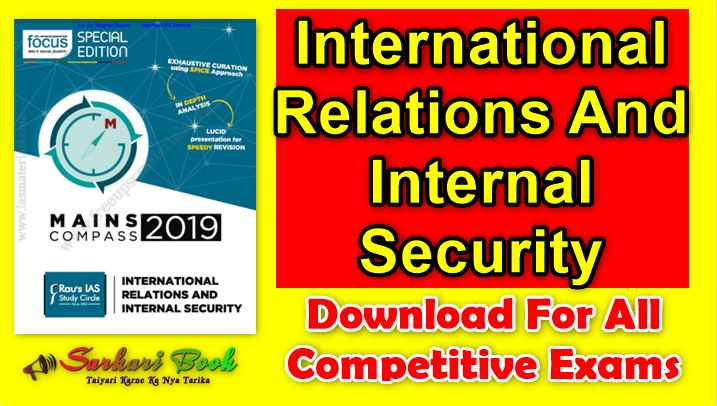 International Relations And Internal Security-By Rau's IAS Study Circle
