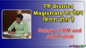 Salary of DM and Job Profile, एक District Magistrate का वेतन कितना होता है